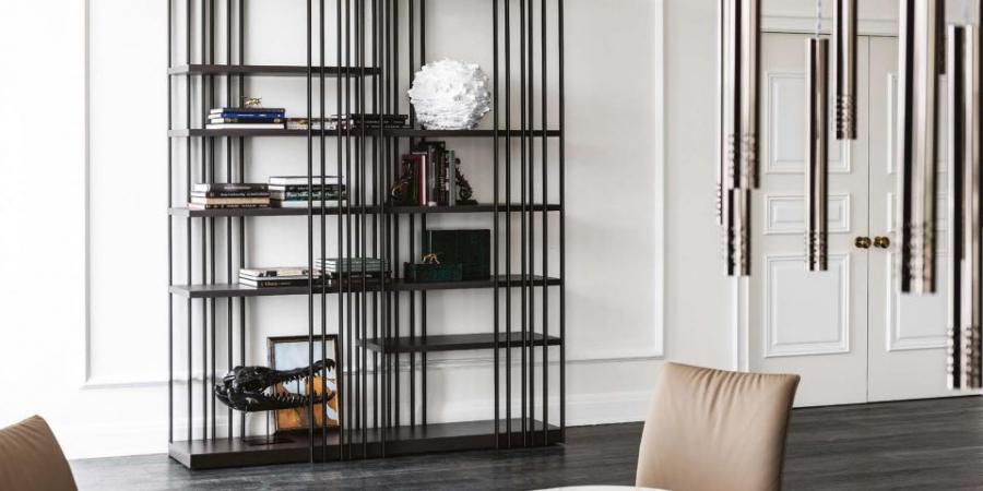 Scaffali E Librerie Design Legno.Piermarini Design