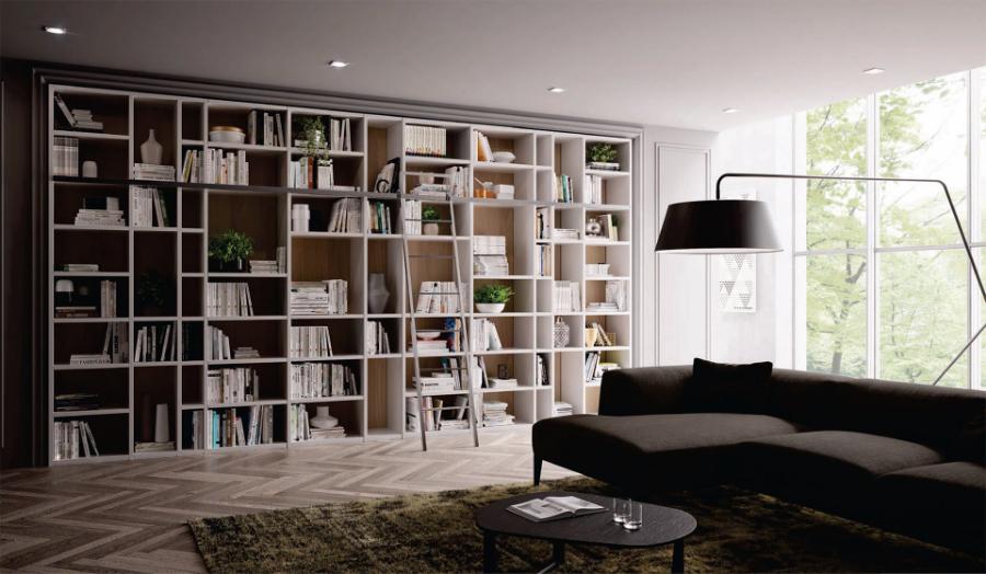 Librerie Componibili Per Mansarda.Piermarini Design
