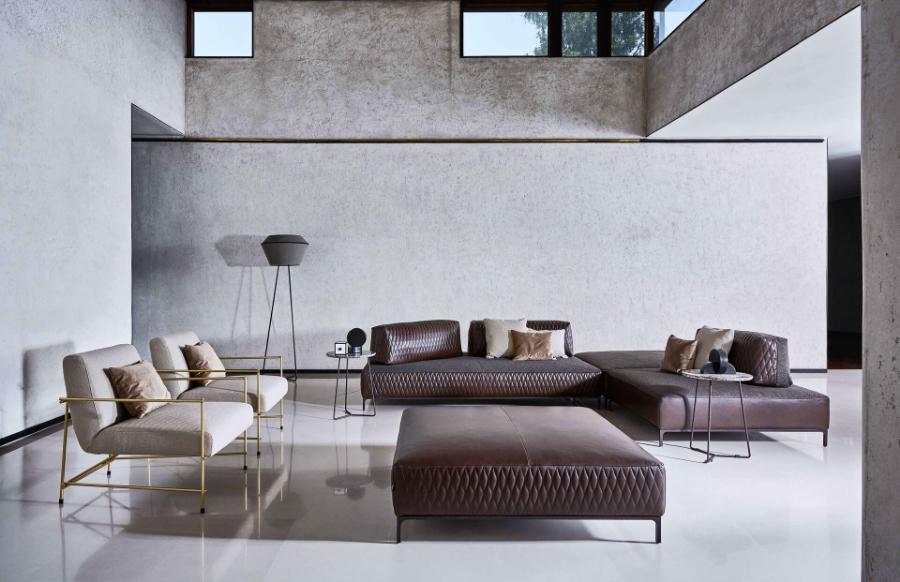 Piermarini design for Divani design italia