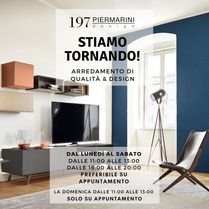 197 Piermarini Design riapre al pubblico!